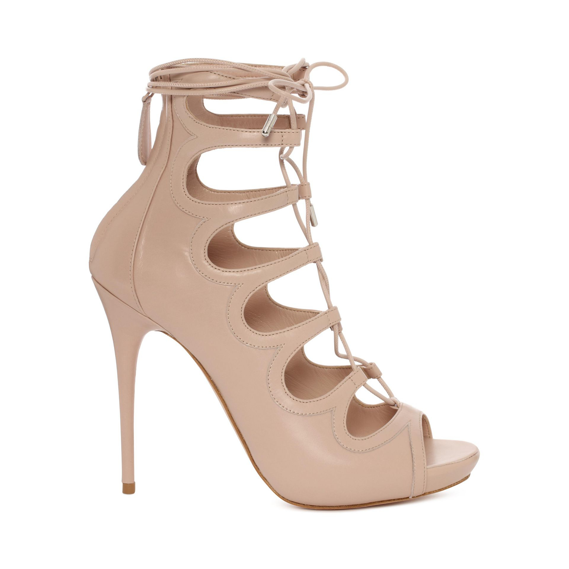 cheap sale store Alexander McQueen Suede Lace-Up Sandals best place to buy outlet visit new 4LRFkTC