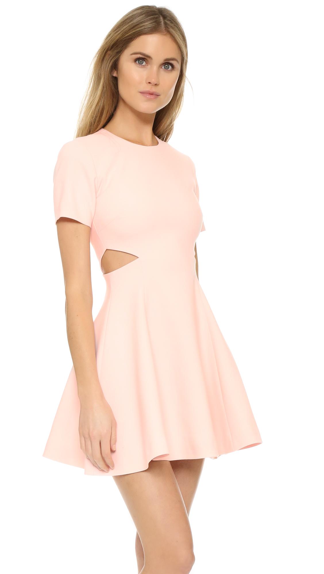 elizabeth and james leonie dress in pink lyst. Black Bedroom Furniture Sets. Home Design Ideas