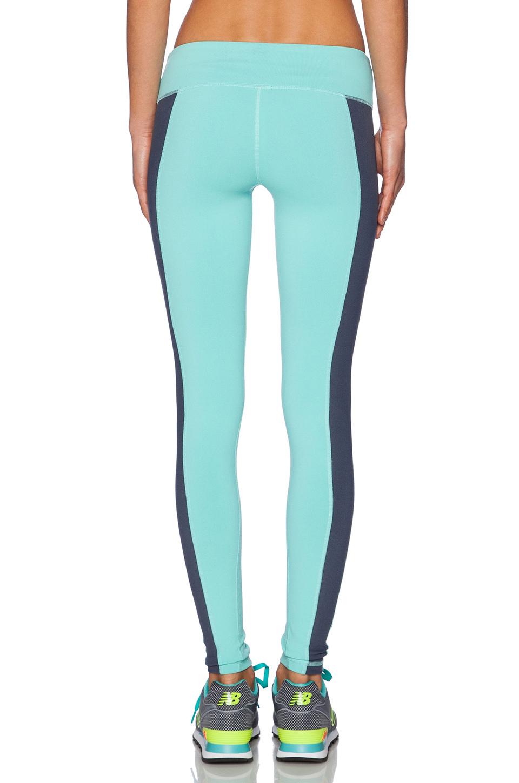 179ded8962fea Lyst - Alo Yoga Illusion 3 Legging in Blue