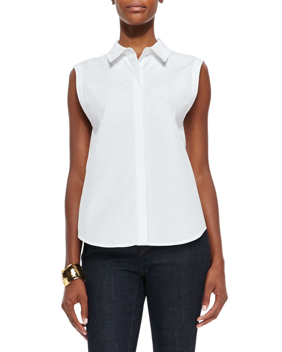 Eileen fisher fisher project organic cotton sleeveless for Eileen fisher organic cotton t shirt
