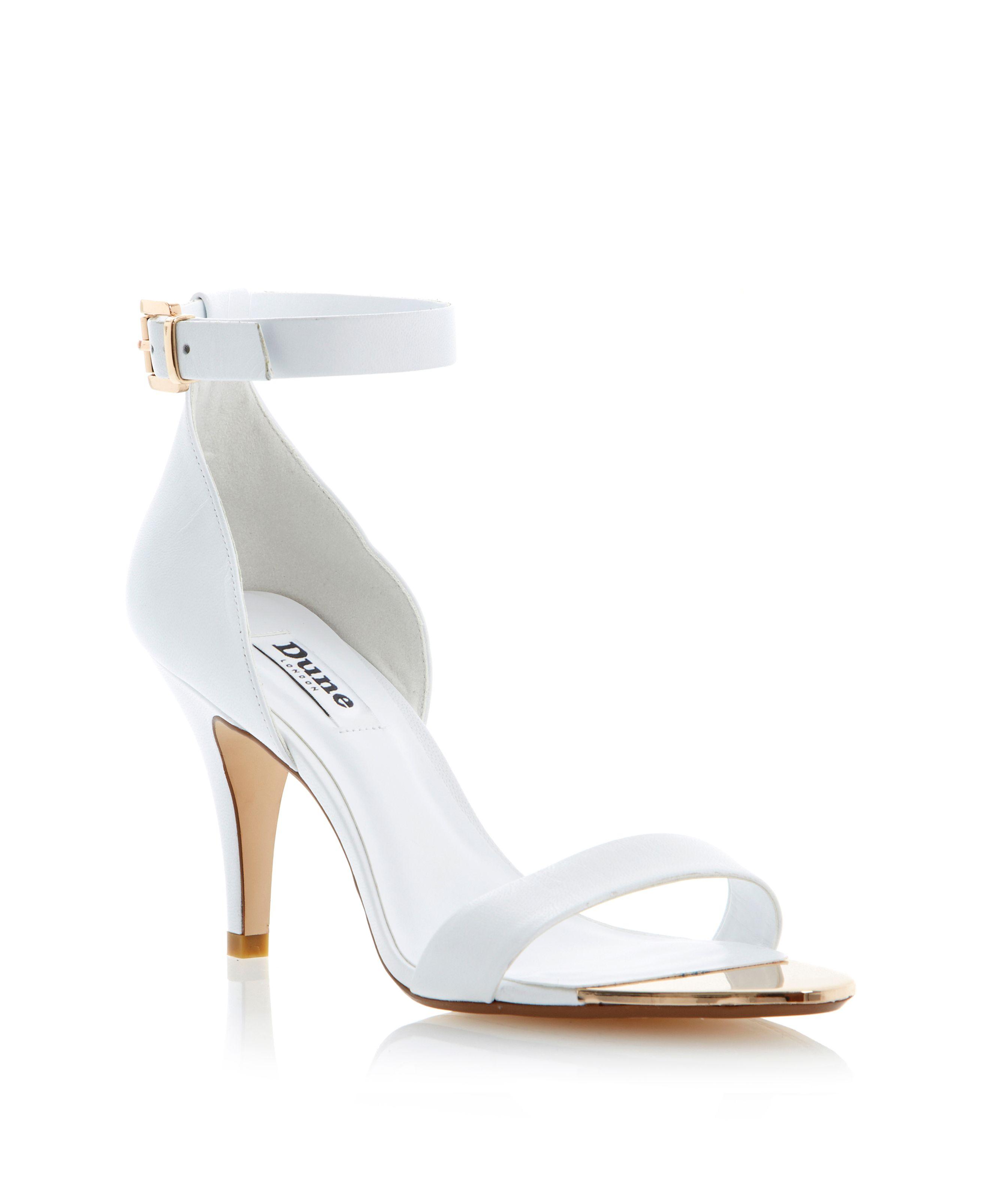 White Sandals Shoes Hose Of Fraser