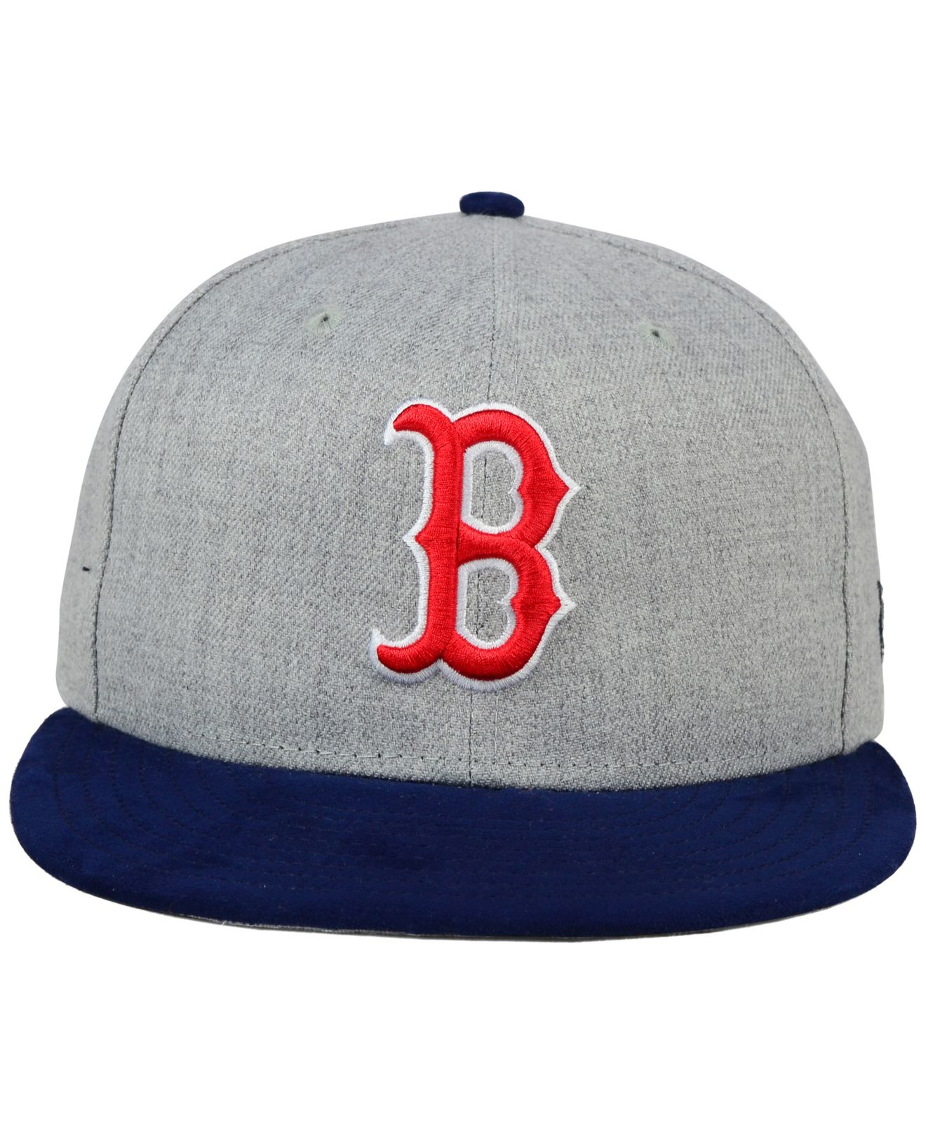 best service 52f9d 691b7 ... france lyst ktz boston red sox heather on faux suede 9fifty snapback cap  bf2a8 36448