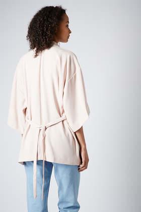 River Island Pink Kimono Jacket