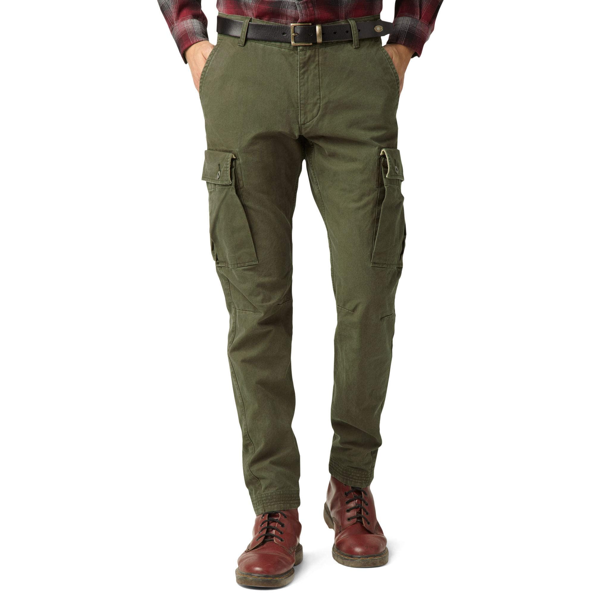 green khaki pants men - Pi Pants
