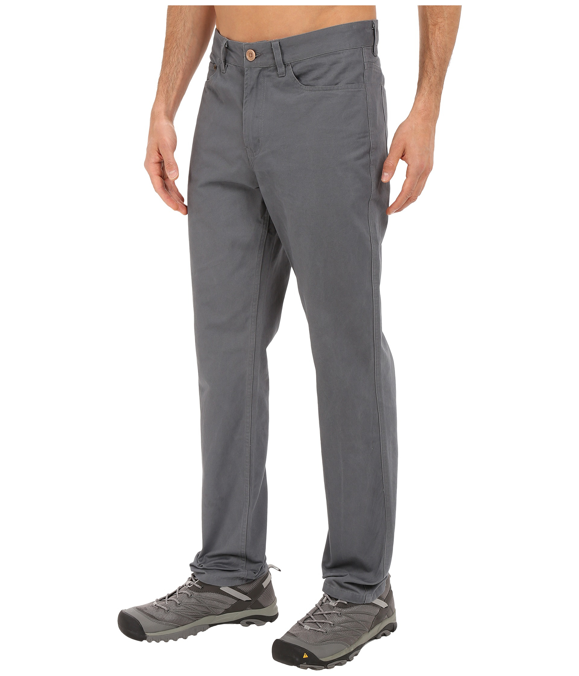 United by blue Dominion Twill Pants in Gray for Men | Lyst