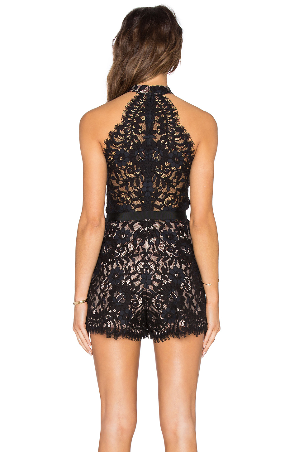d1500f9fee8 Gallery. Previously sold at  REVOLVE · Women s Lace Jumpsuits Women s Black  ...