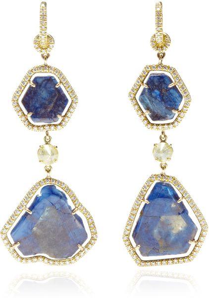 Nina runsdorf one of a kind star sapphire and diamond for Sapphire studios jewelry reviews