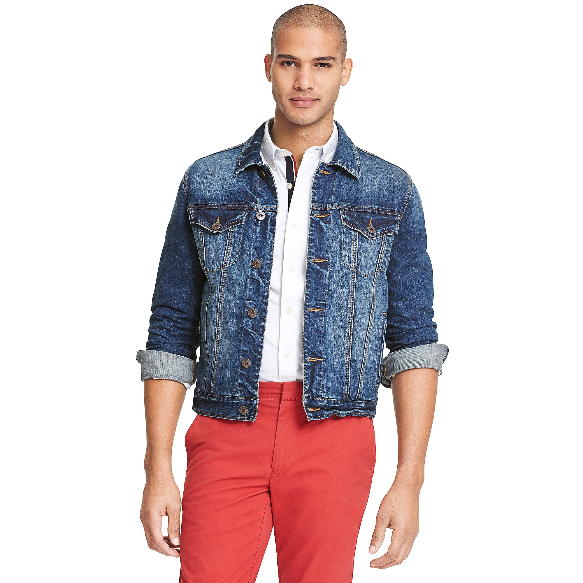 Tommy hilfiger Classic Jean Jacket in Blue for Men (MEDIUM WASH)