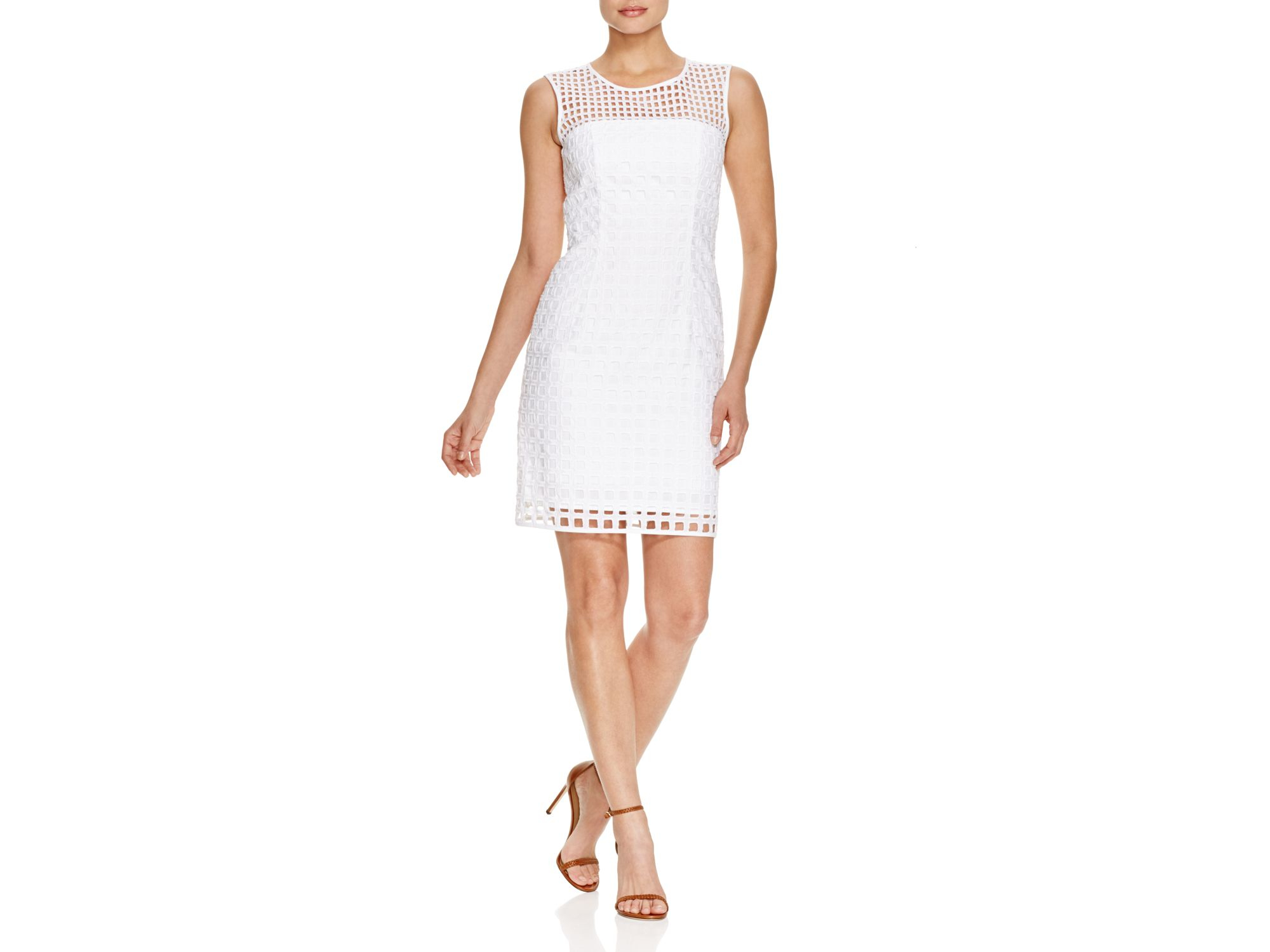 2774d83d MILLY Chloe Eyelet Illusion Dress - 100% Bloomingdale's Exclusive in ...