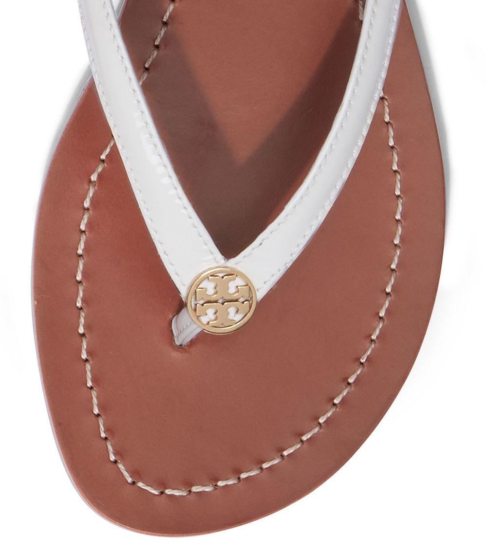 5534d8ae5d1651 Lyst - Tory Burch Terra Thong Sandal in White