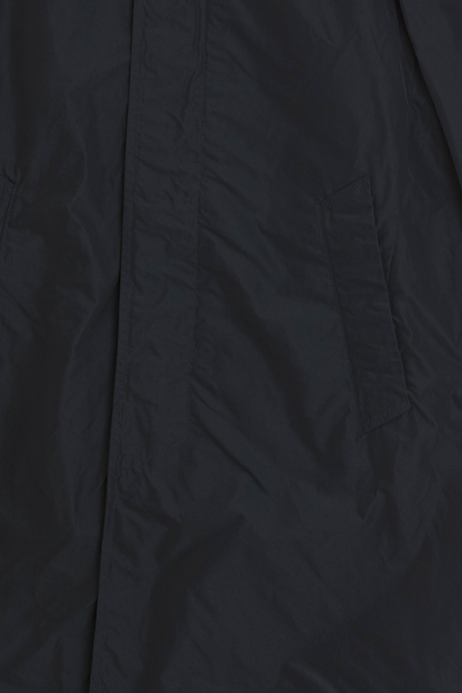 stone island nylon trench coat in blue for men navy lyst. Black Bedroom Furniture Sets. Home Design Ideas