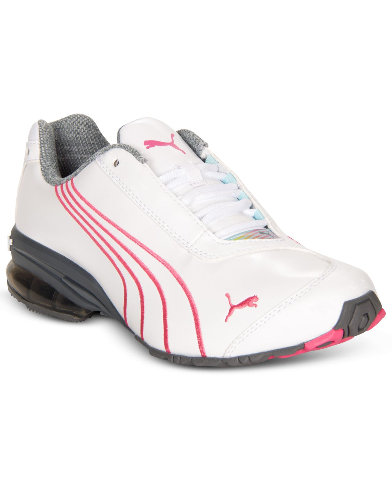 Lyst - PUMA Women S Jago 8 Sneakers From Finish Line in White 706306f97