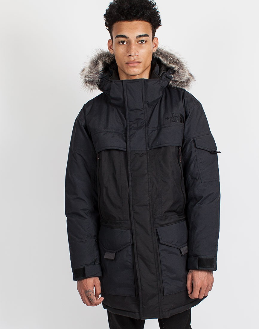 the north face mcmurdo 2 parka in black for men lyst. Black Bedroom Furniture Sets. Home Design Ideas