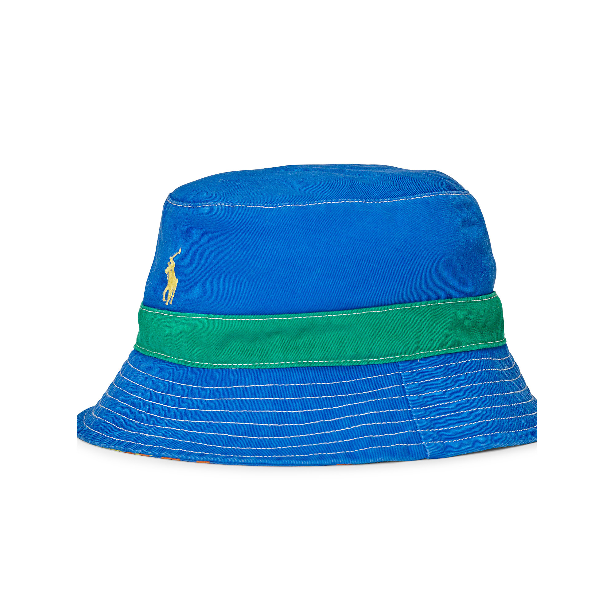 ce0c87f7dfaeb Polo Ralph Lauren Reversible Twill Bucket Hat for Men - Lyst