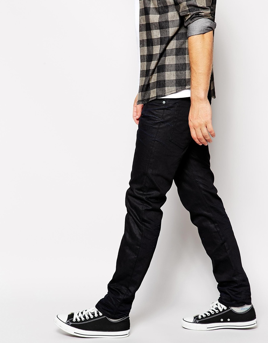 23f10fb2135 G-Star RAW G Star Jeans 3301 Low Tapered Black 3d Aged in Black for ...