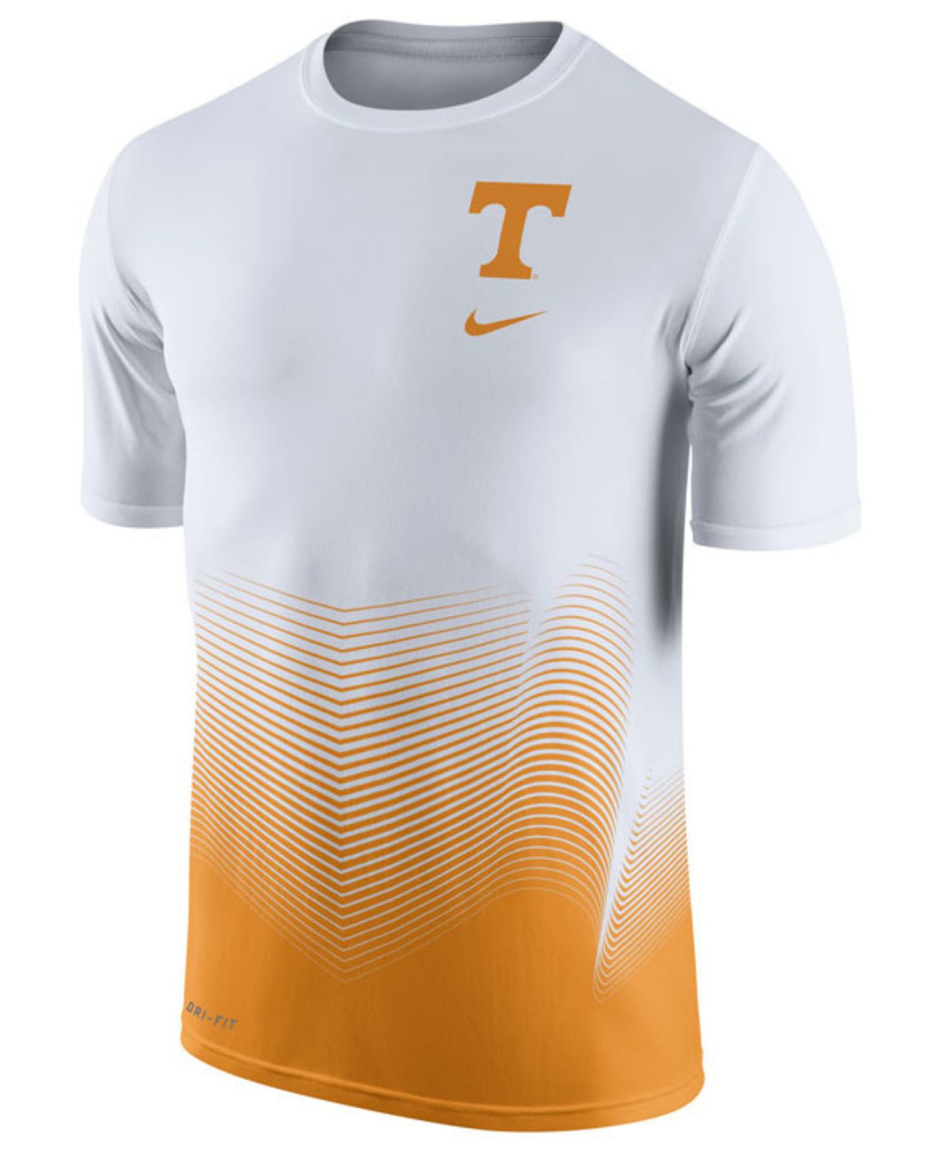 4dceb60c0c Lyst - Nike Men s Tennessee Volunteers Dri-fit Basketball Player T ...