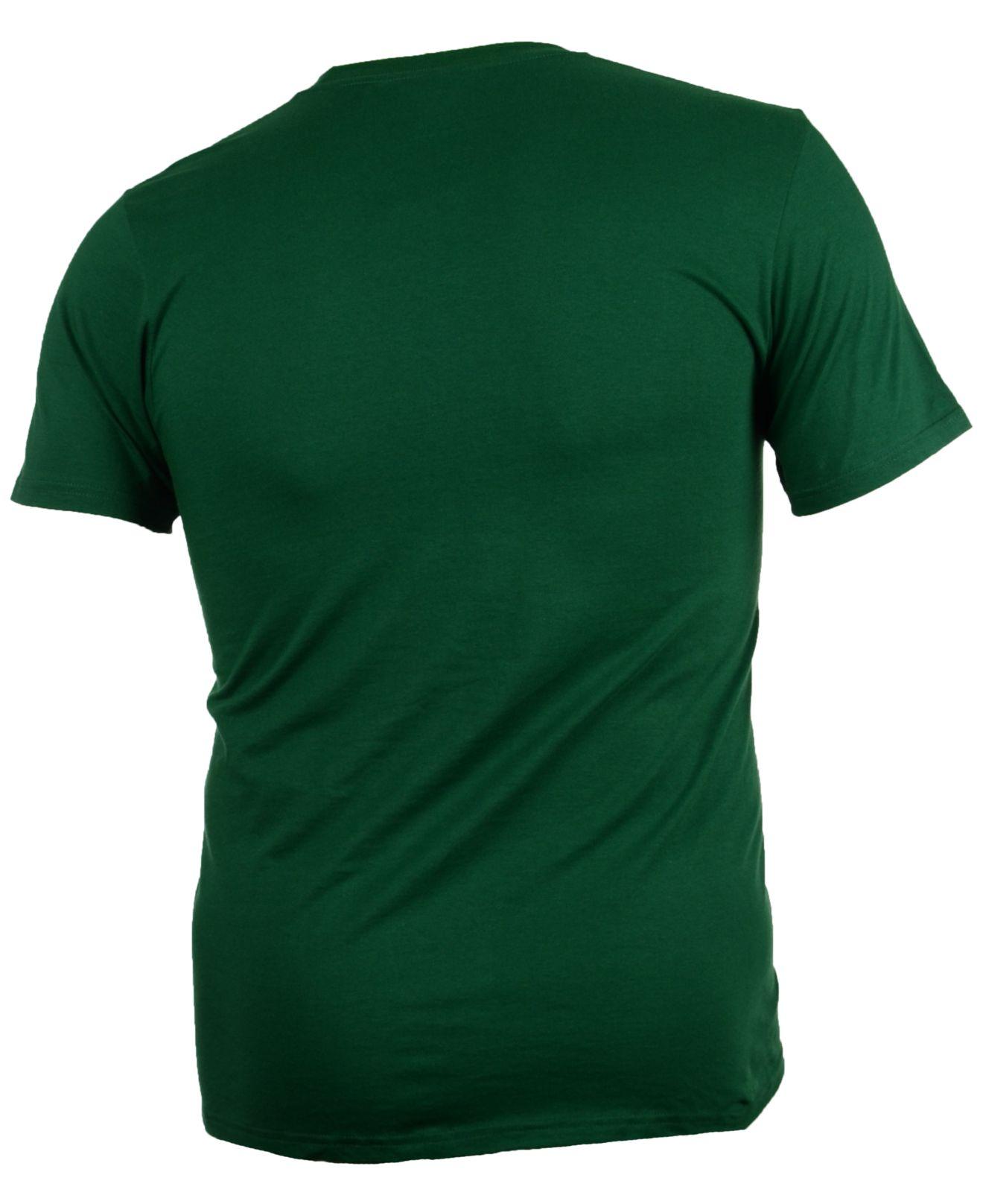 Lyst reebok men 39 s minnesota wild high end mascot t shirt for High end men s dress shirts