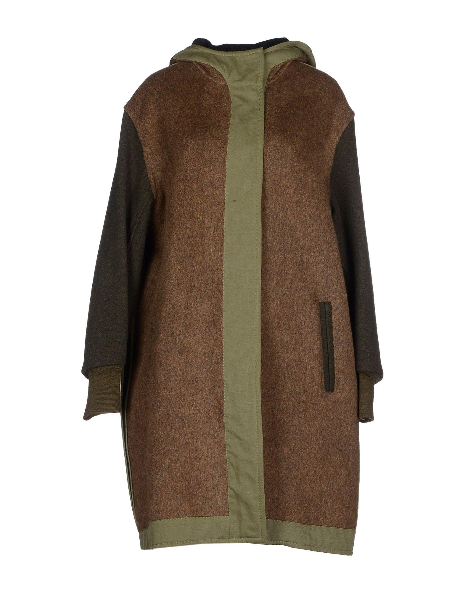 Étoile isabel marant Coat in Green (Dark green) | Lyst