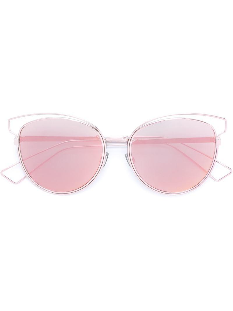 beb4de028b Lyst - Dior  sideral 2  Sunglasses in Pink