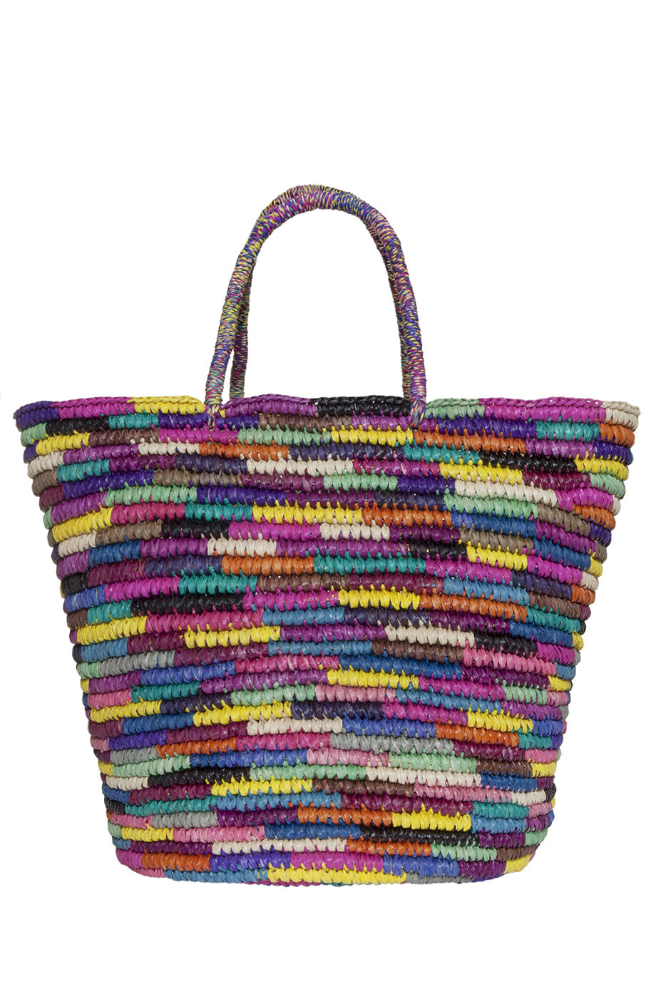 Sensi studio Colourful Straw Beach Bag | Lyst