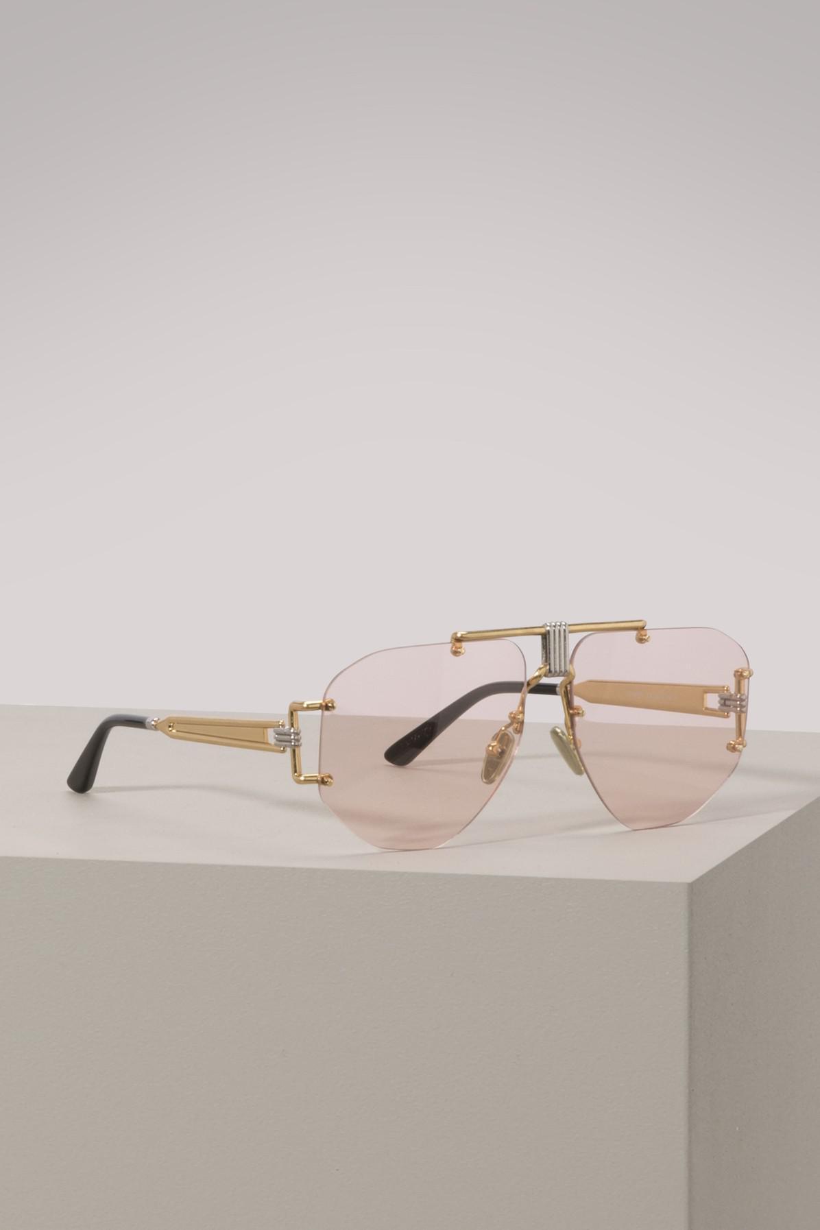 ae7e972c1 Céline Aviator Sunglasses in Pink - Lyst