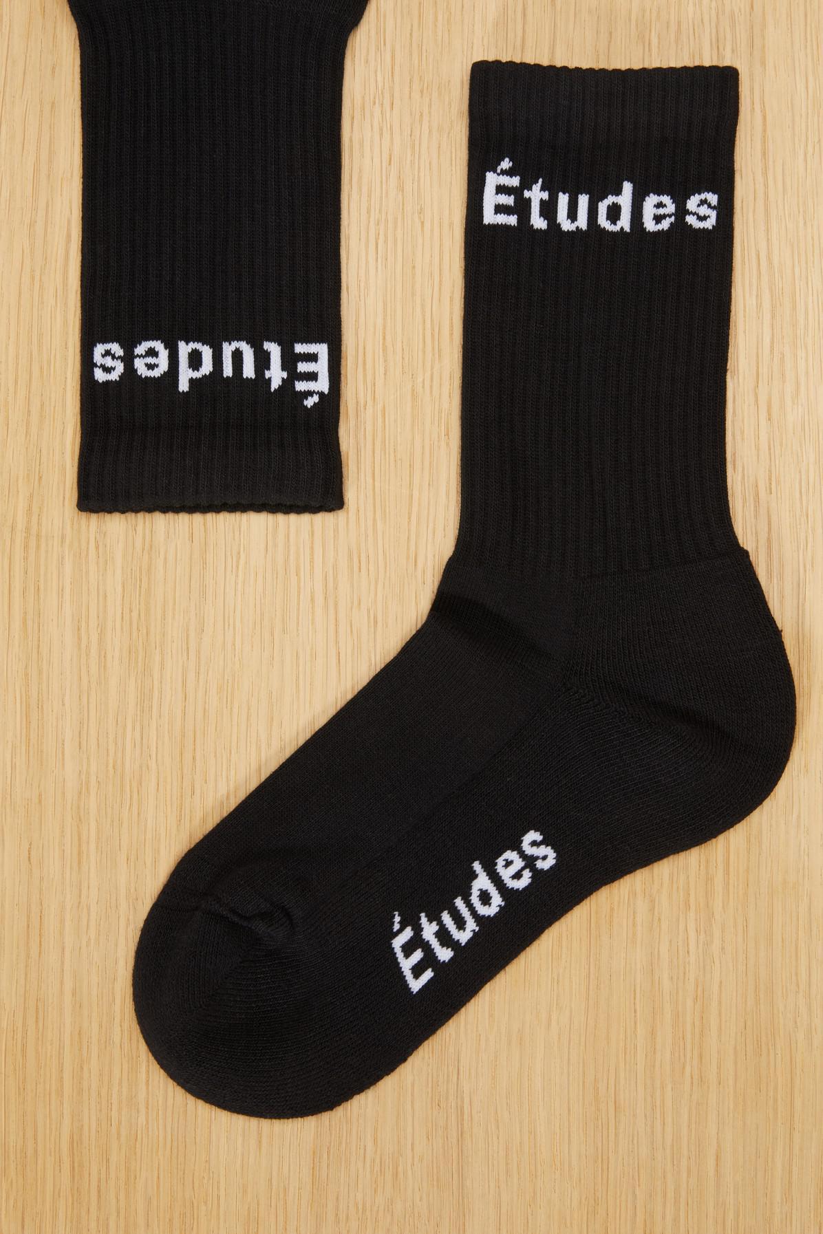 Enjoy Cheap Online Europa black socks Études Studio Free Shipping Sneakernews Buy Online Outlet Free Shipping Nicekicks PU1pc