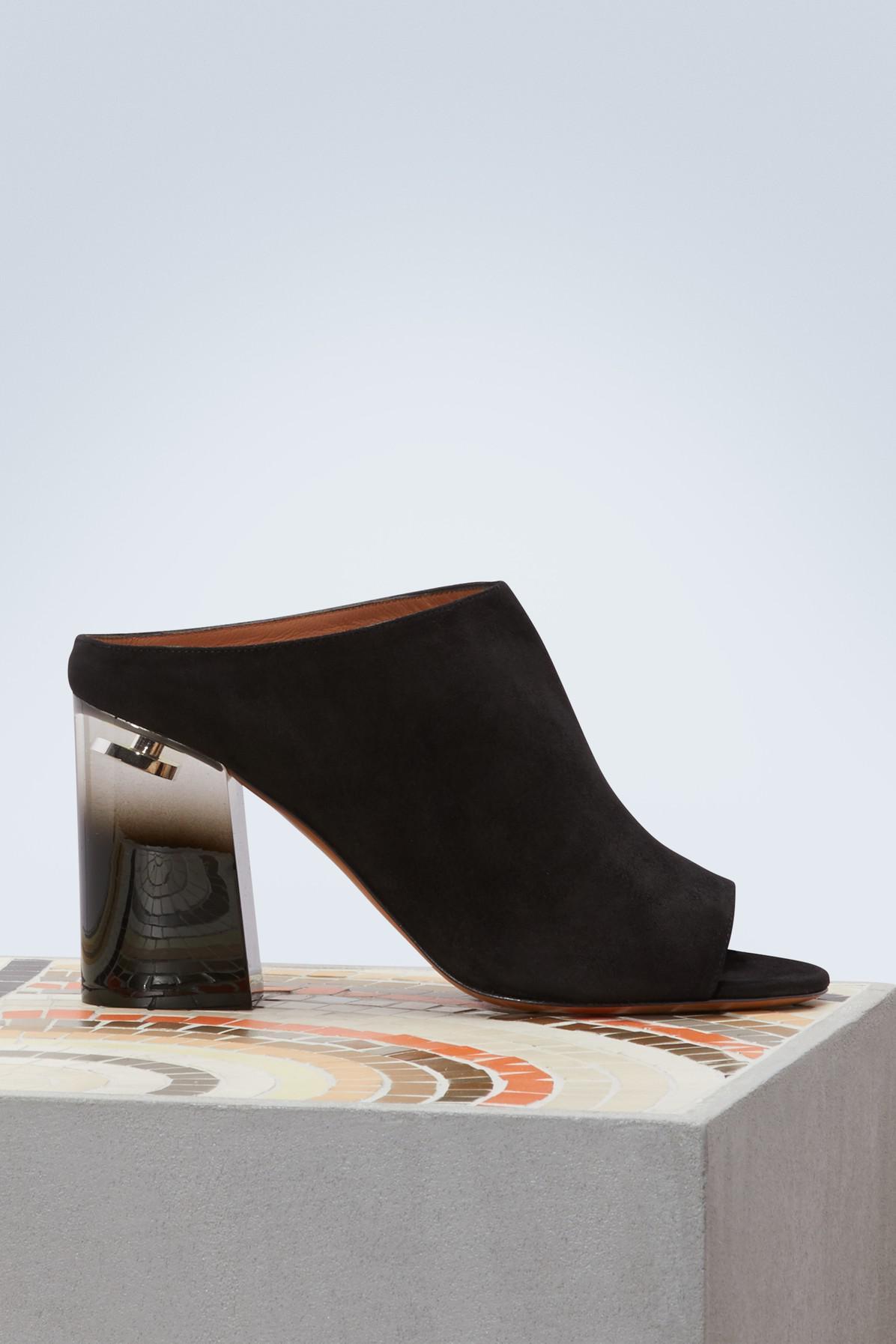 Givenchy Plexiglass-heeled slippers scnMAQLw