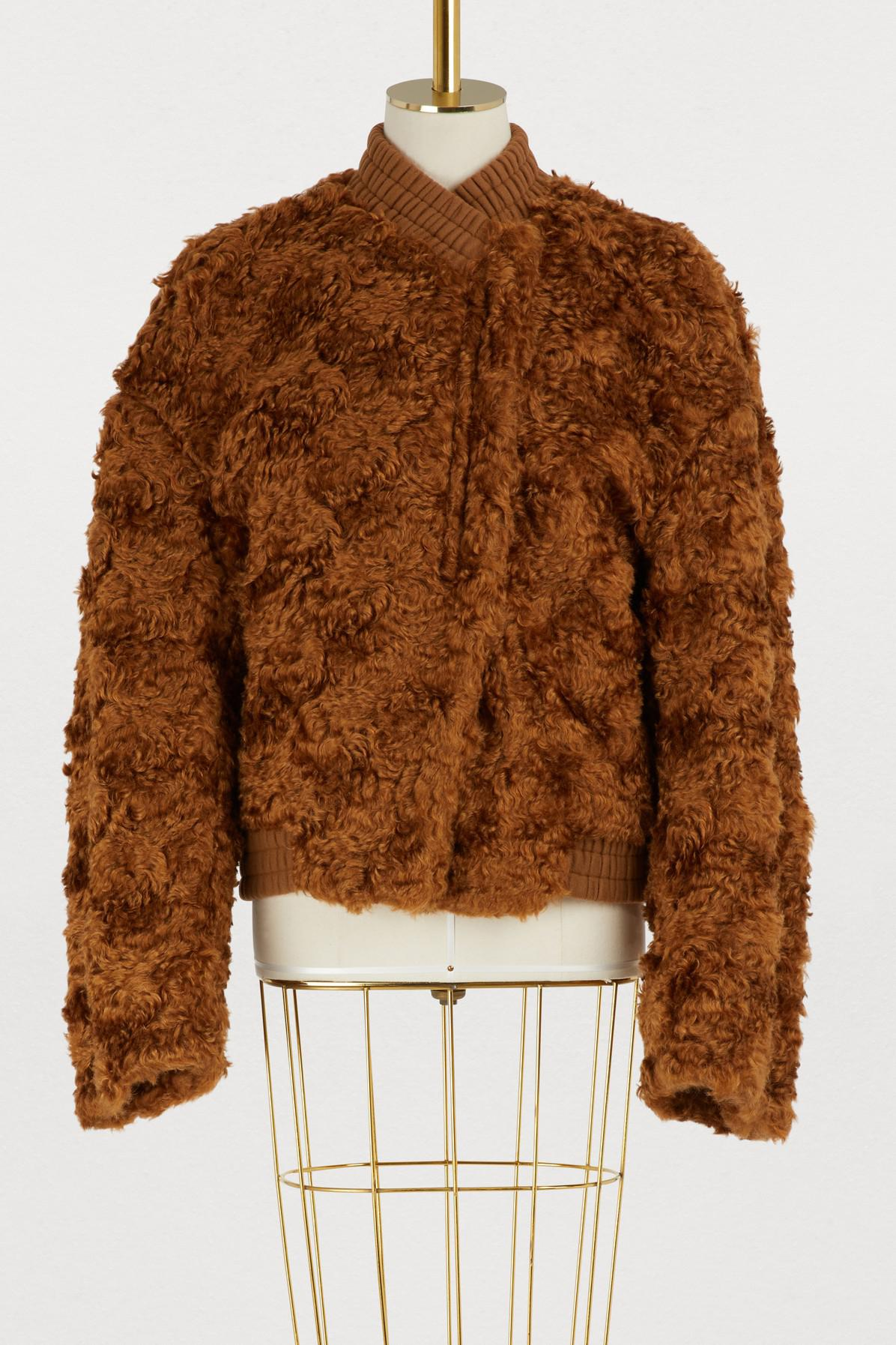Bomber Brown Mohair Jil Sander Women's Jacket Fame wcac7C6Wq