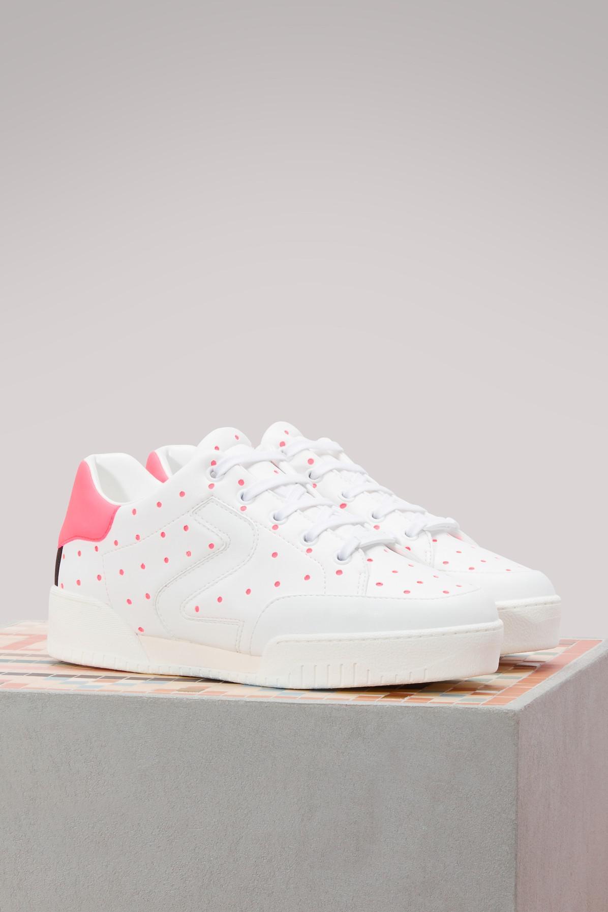 save off 44954 67af7 stella-mccartney-9017-WhtPink-FlBk-Wh-Bk-Stella-Polka-Dot-Sneakers.jpeg