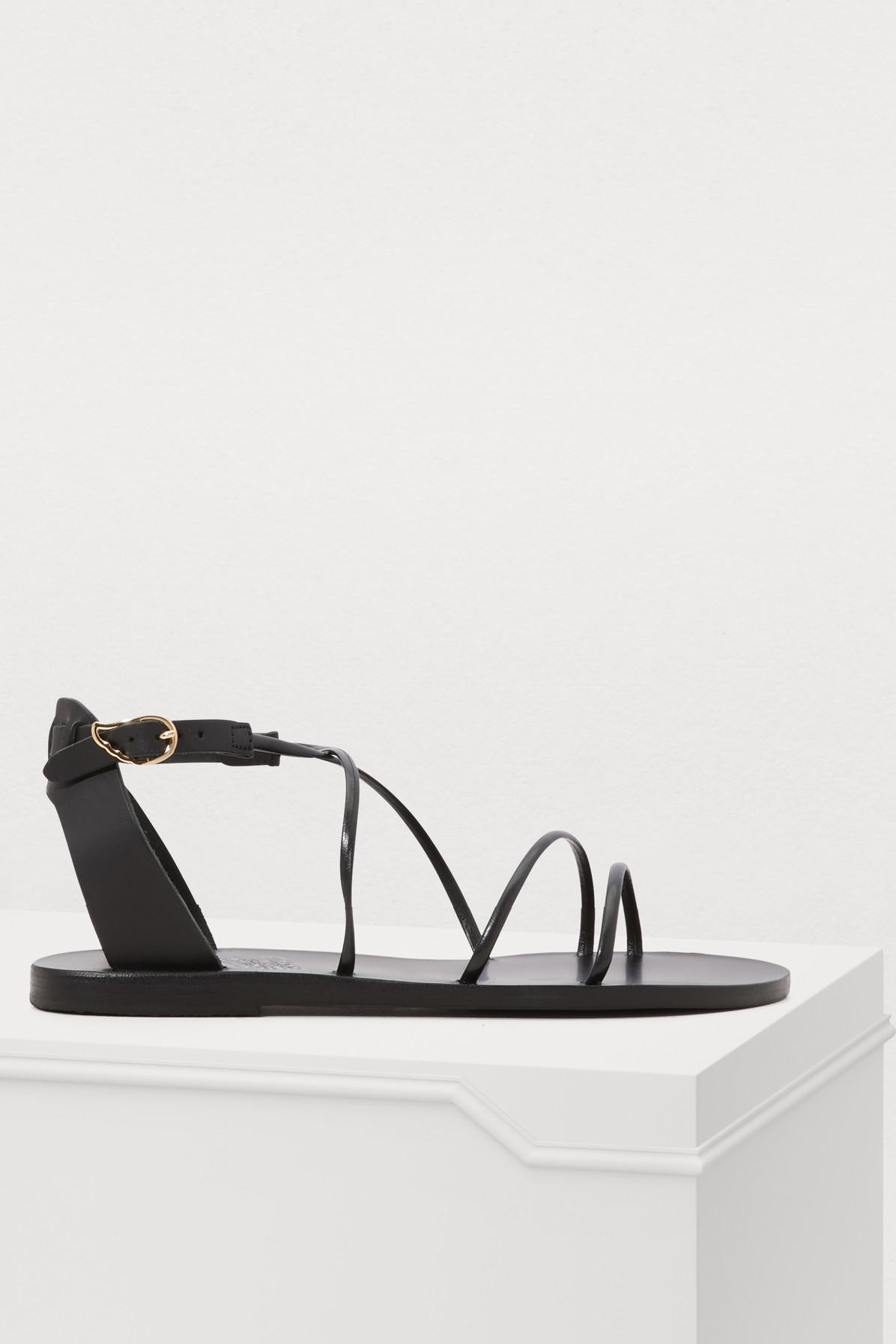 f2e1ec512018a Lyst - Ancient Greek Sandals Meloivia Sandals in Black