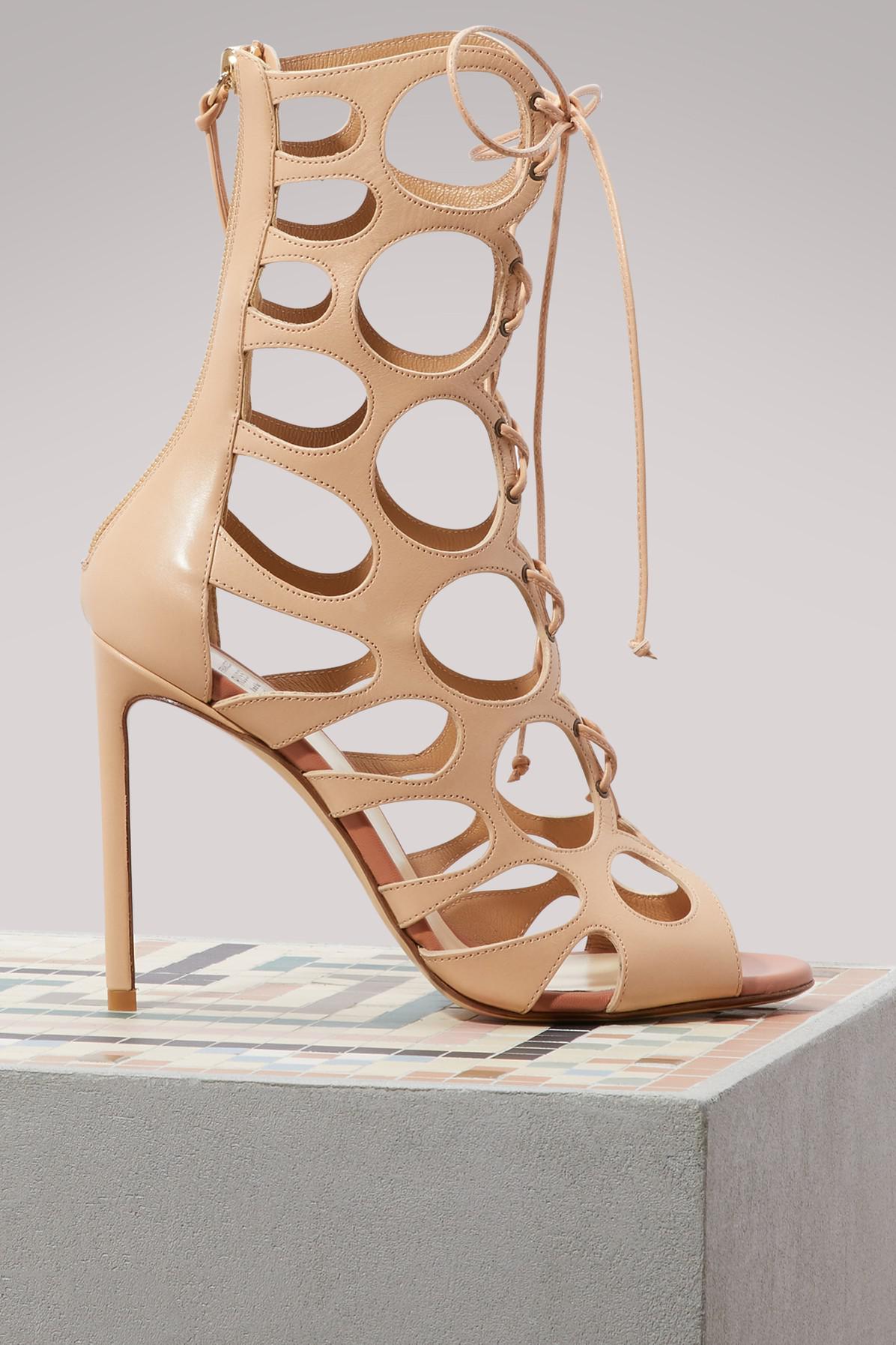 Francesco Russo Cut laced boots Outlet Manchester Deals Sale Online oyZx7