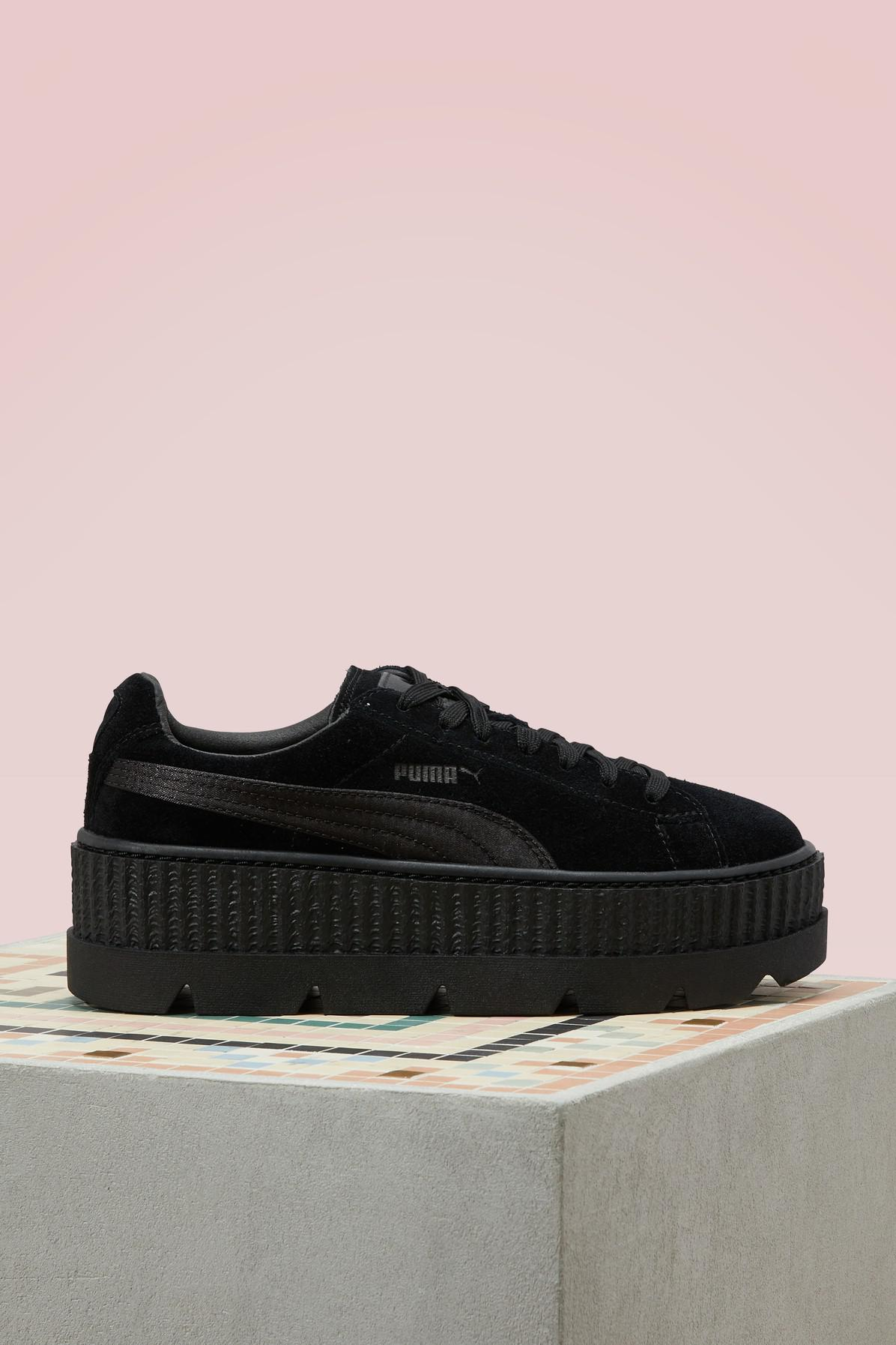 Lyst - Puma Suede Cleated Creepers in Black dc05a279a