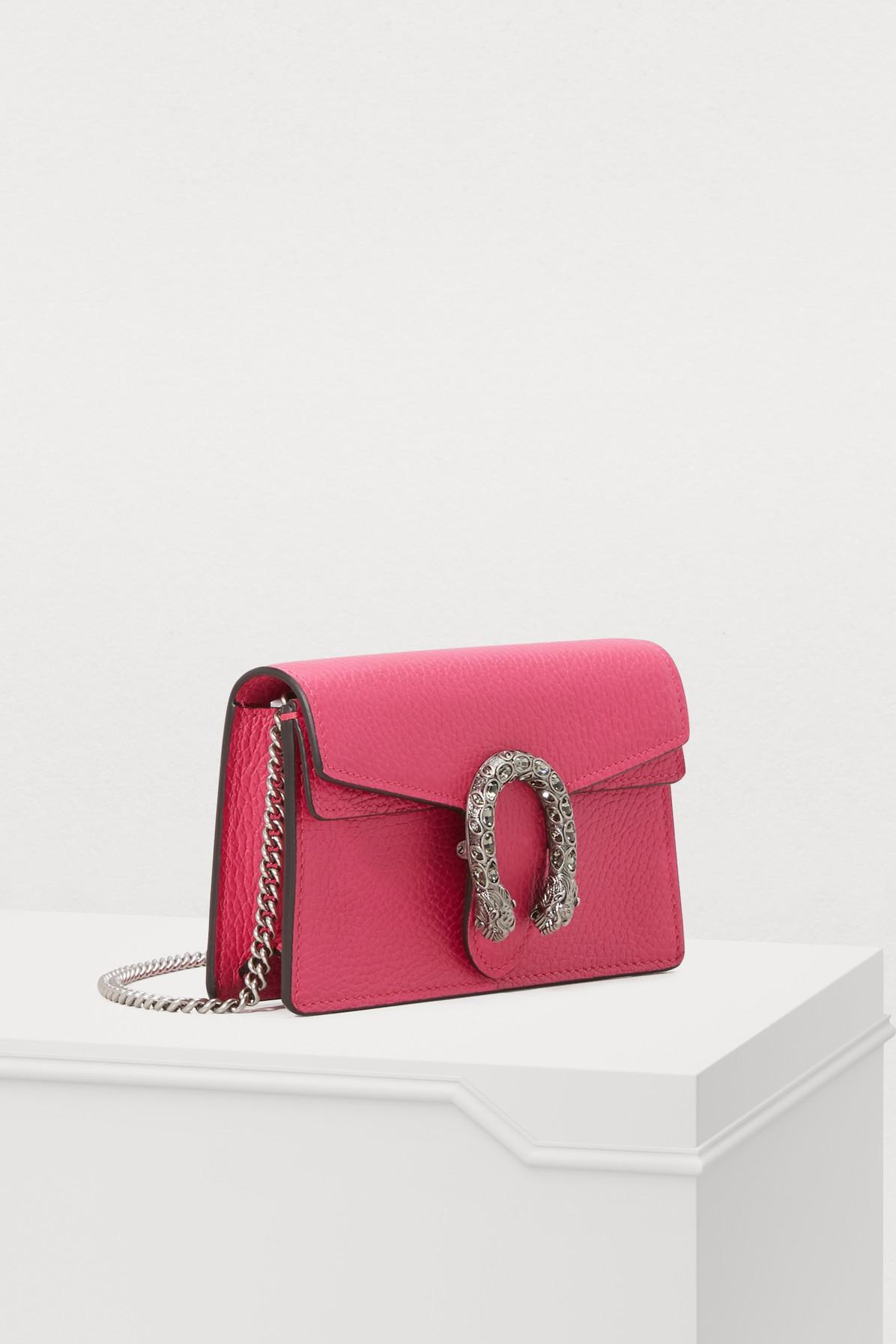 87043a39fee Gucci - Multicolor Dionysus Velvet Super Mini Bag With Crystals - Lyst.  View fullscreen