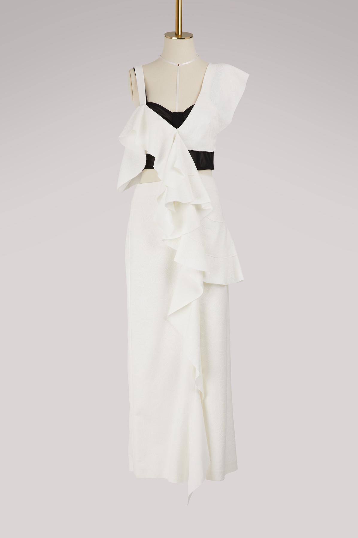 Ruffled maxi dress Proenza Schouler nhCxjM
