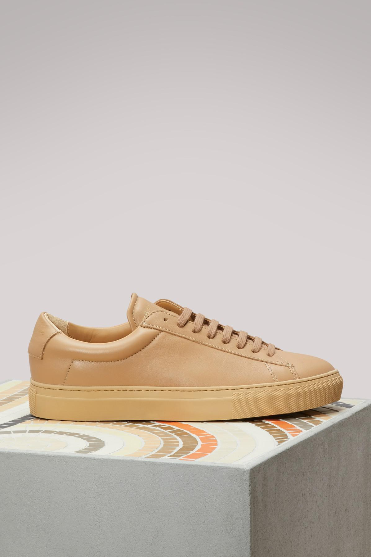 Zespà Tone-on-Tone Nappa Sneakers LGElep