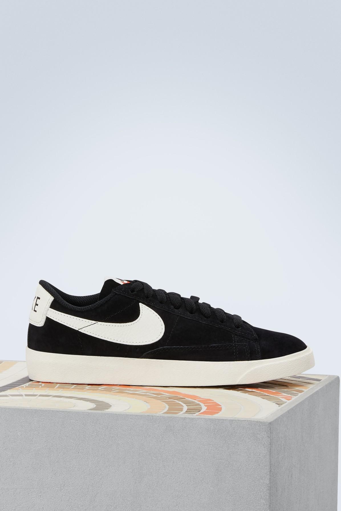 Nike. Women's Black Blazer Low Sneakers