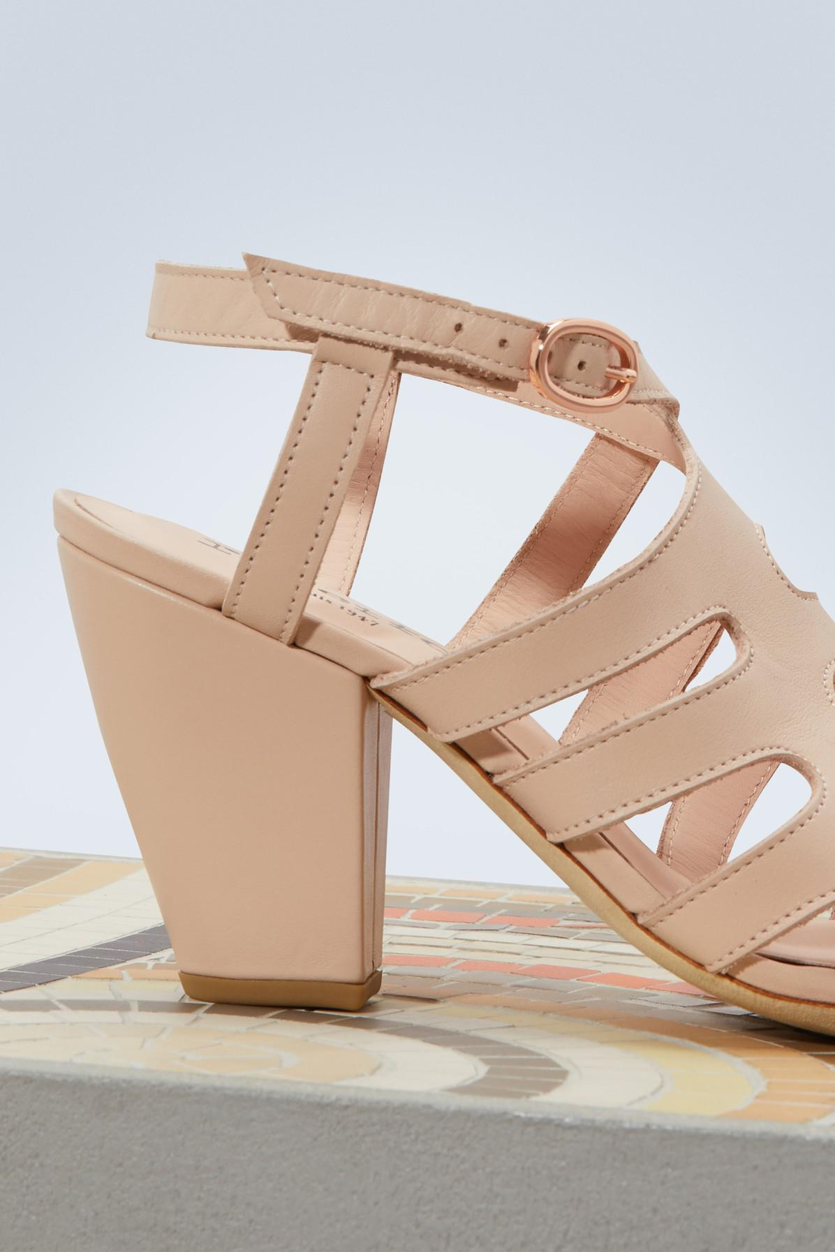 Ines heeled sandals Repetto