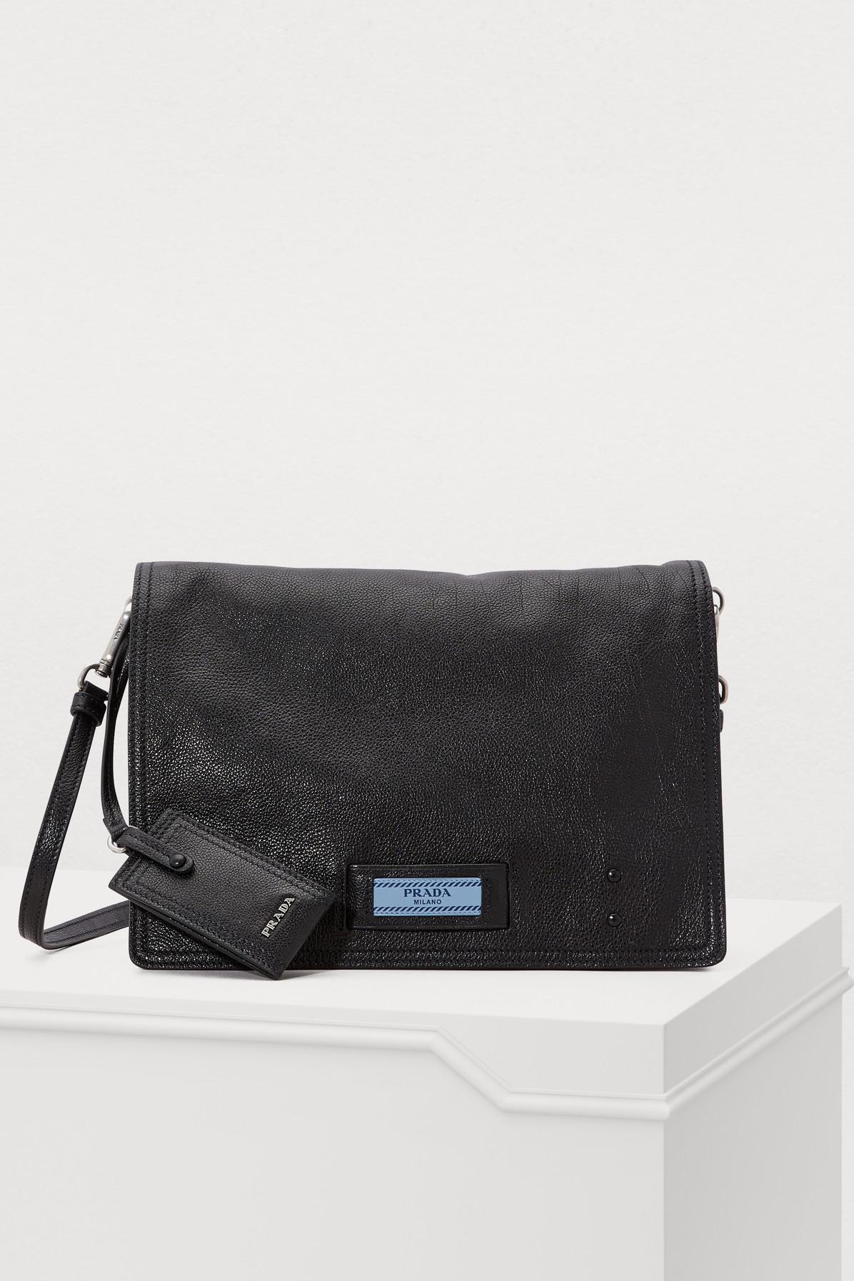 96d2d9c3fc49 Prada - Black Etiquette Shoulder Bag - Lyst. View fullscreen