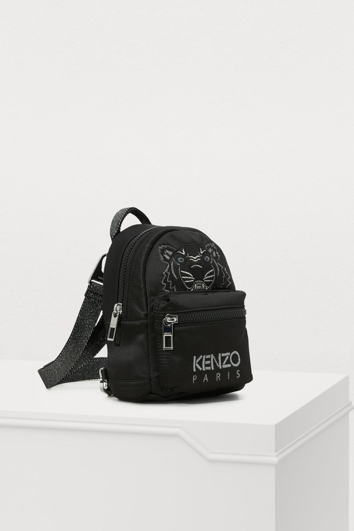 246f628b KENZO - Black Mini Satin Tiger Rucksack 'holiday Capsule' - Lyst. View  fullscreen