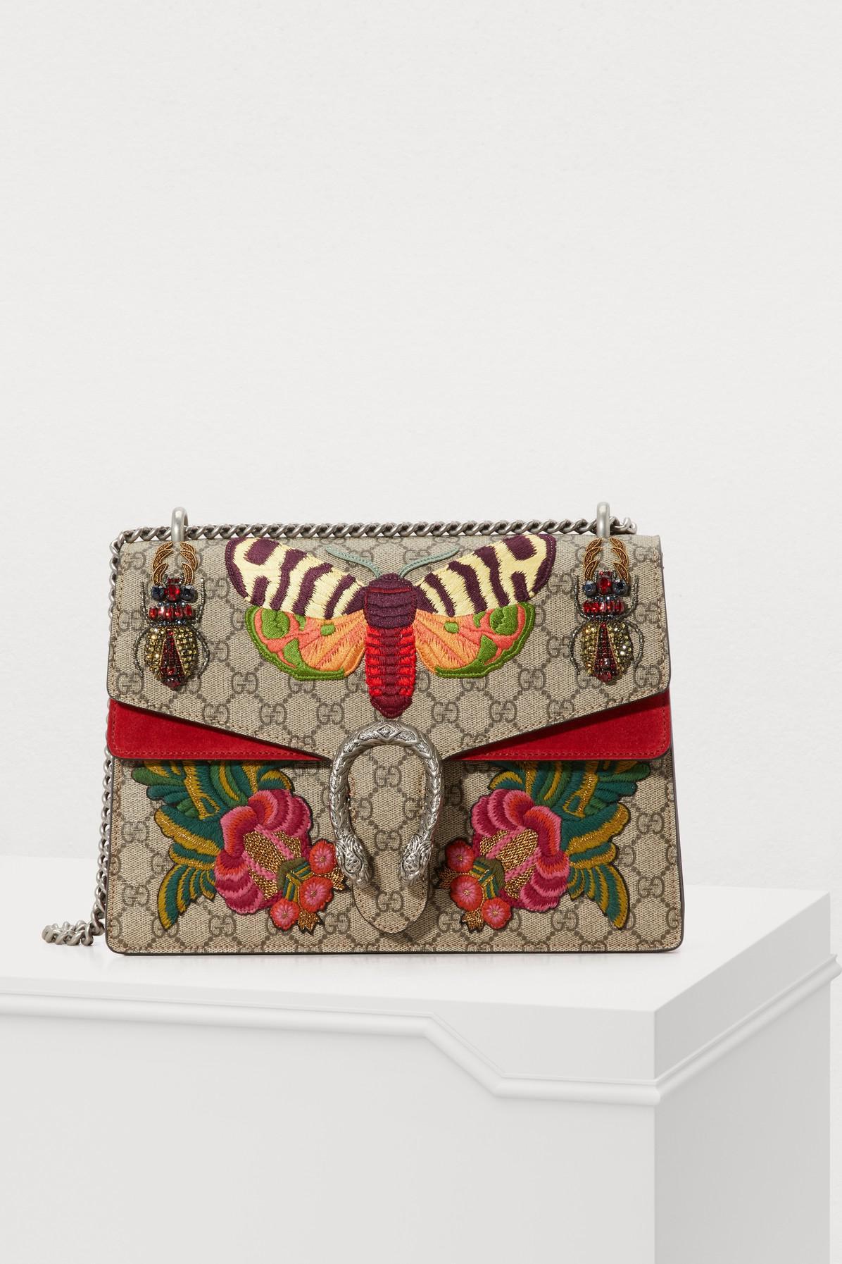 0f2e6180cfb4 Lyst - Sac à épaule Dionysus taille moyenne Gucci en coloris Rouge