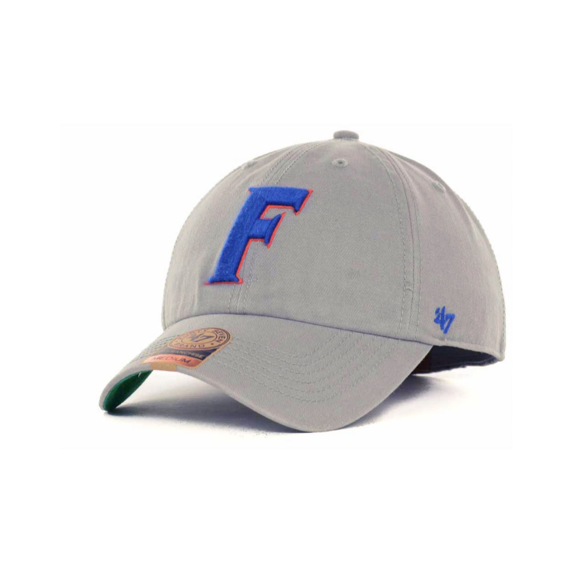 new style 0a978 042c8 47 Brand Florida Gators Ncaa 47 Grey Franchise Cap in Gray for Men ...