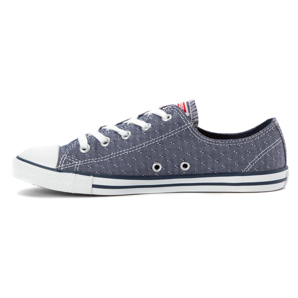 cd5aa73bb735 ... denmark lyst converse chuck taylor dainty chambray low top sneaker in  blue 2e2b2 524d6