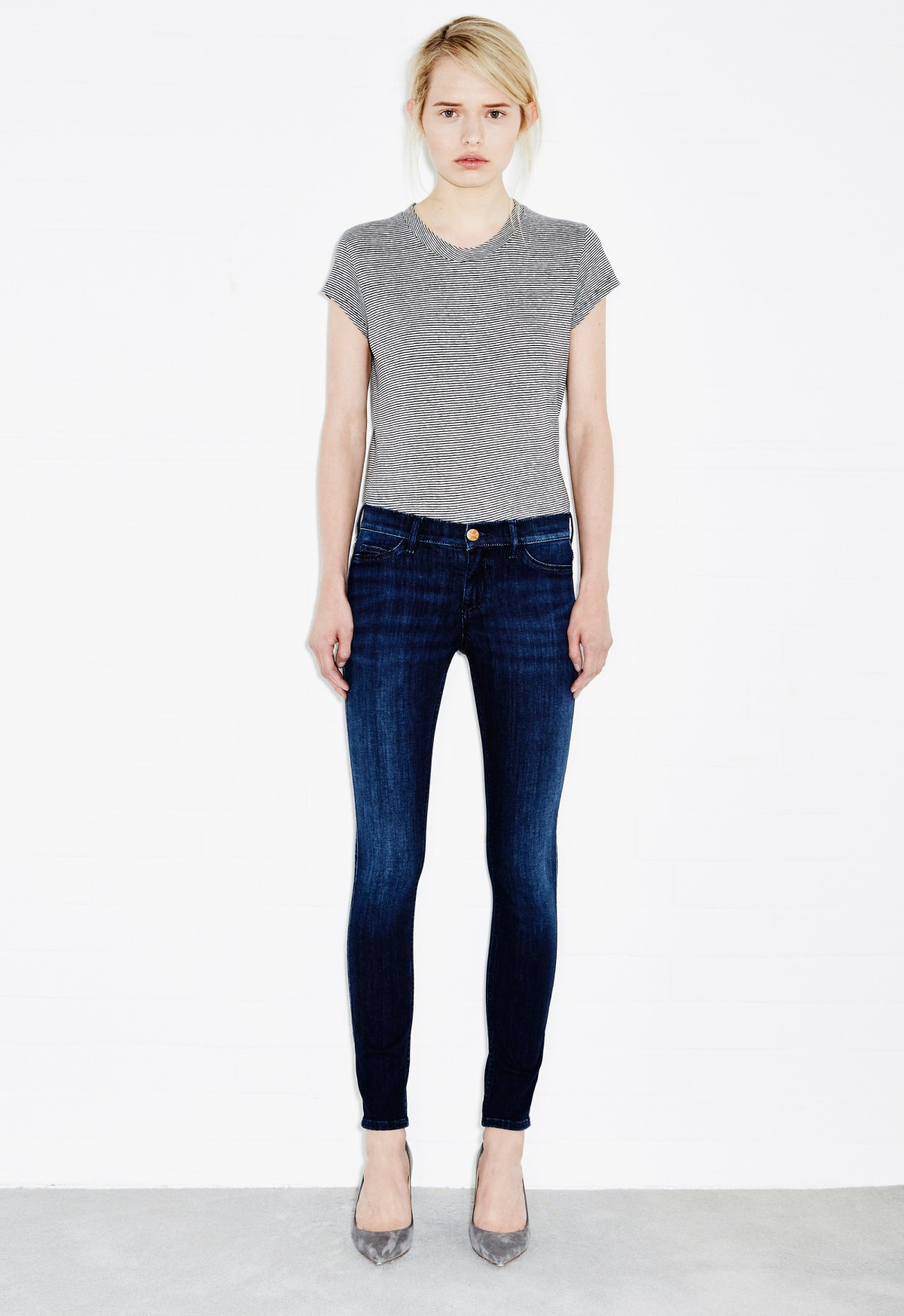 Mih jeans Superfit Skinny Jean in Blue (Petit)