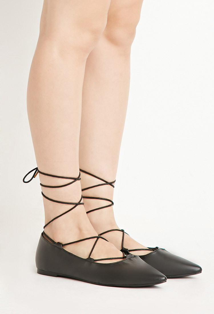 Gallery. Women's Lace Up Flats