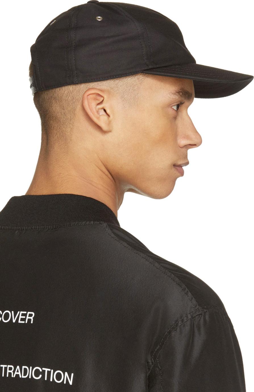d3034611f9e63 AMI Blac Classic Baseball Cap in Black for Men - Lyst