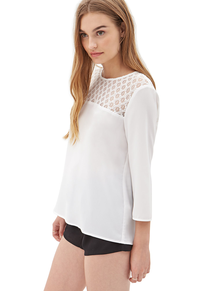 White Blouse Forever 21