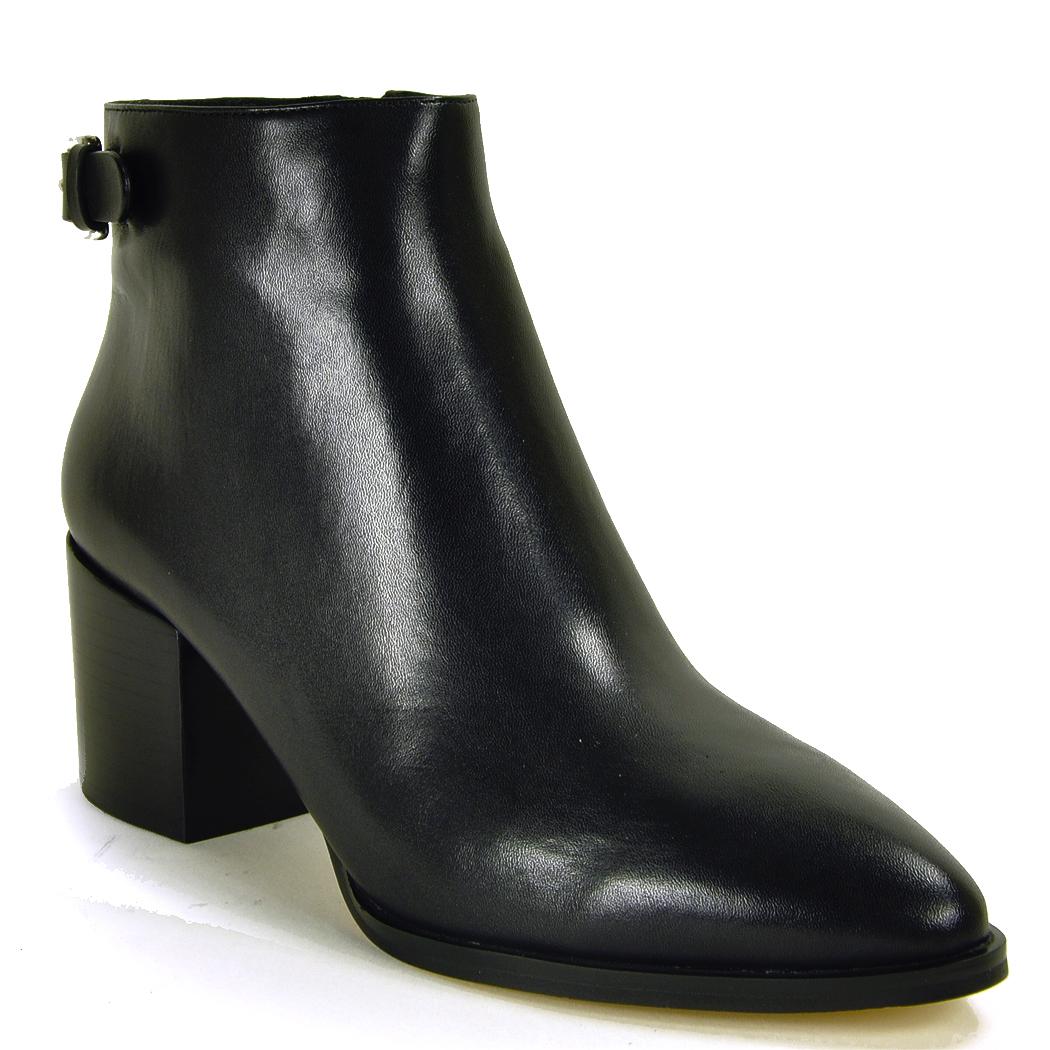 michael michael kors ankle boot in black lyst. Black Bedroom Furniture Sets. Home Design Ideas