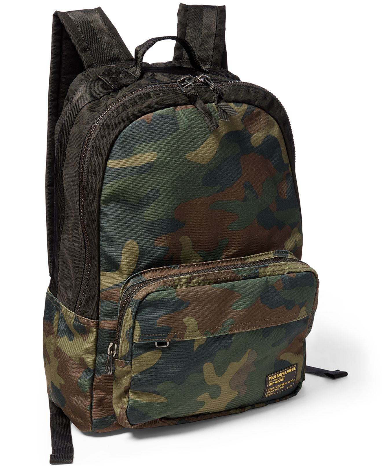Lyst - Polo Ralph Lauren Camo-print Military Backpack in Green for Men 621495c497015