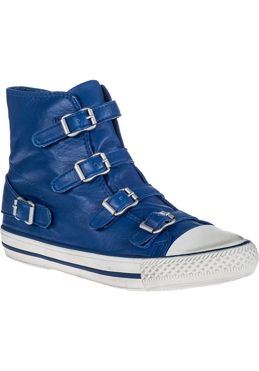 Lyst - Ash Virgin Sneaker Cobalt Leather in Blue