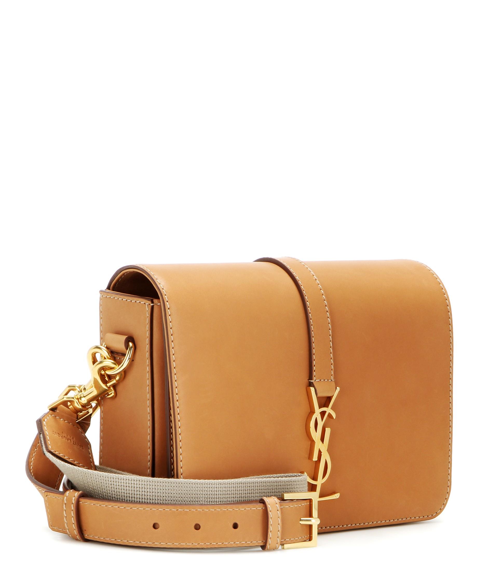 68142d4eb87d Saint Laurent Monogram Université Medium Leather Shoulder Bag in ...